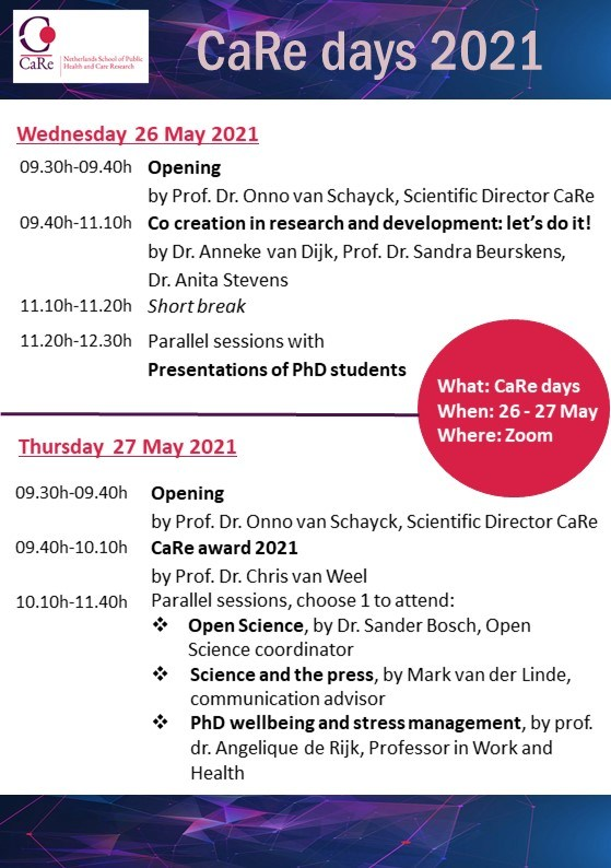 CaRe-days-2021-programme-def